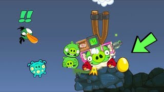 Bad Piggies - PIGGIES REVENGE TNT ATTACK THE ANGRY BIRDS!!!