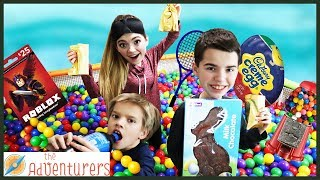 BALL PiT PARTY! Scavenger Hunt Hide And Seek TREASURE / That YouTub3 Family