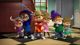 Alvin and the Chipmunks Full Episodes SS1Ep2 # A Is for Alien Jeanette Enchanted ツツ