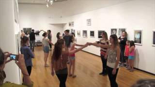 Flash Mob Proposal to Peter Gabriel's The Book of Love