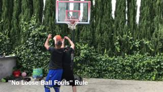The Unofficial Rules of Pick Up Basketball.
