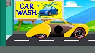 Kids TV channel |sports car | car wash