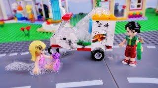 Pierwsza praca Stephanie - Bajka po polsku z klockami Lego Friends odc.80