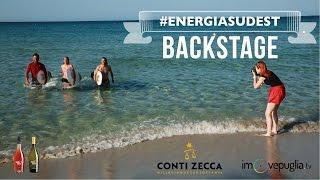 #EnergiaSudEst dall'alba al tramonto | backstage video • Conti Zecca Wine