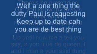 Sean Paul - Ever Blazin' Lyrics On Screen