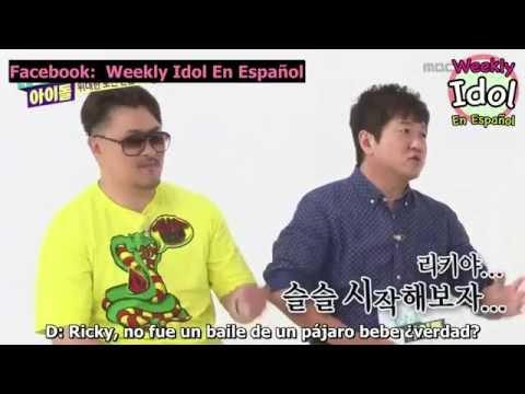 [SUB ESPAÑOL] 15.07.01 - Weekly Idol Teen Top (2/3)