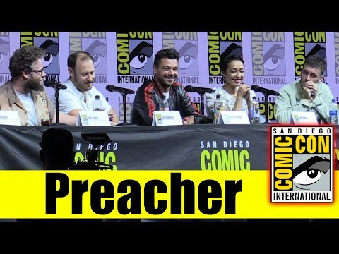 Xxx Mp4 AMC S PREACHER Comic Con 2018 Full Panel Dominic Cooper Ruth Negga Seth Rogen 3gp Sex