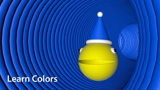Learn Colors with Color Candy Balls Pacman Surprise Eggs for children - wms4kids