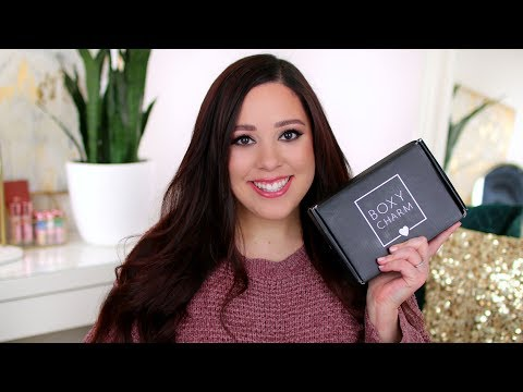 BOXYCHARM MARCH 2019 HIGH END MAKEUP BRANDS