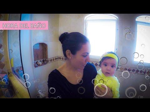 Cómo bañar a tu bebe o en la regadera