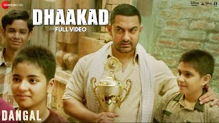 Dhaakad  Lyrics Video  Dangal  Aamir Khan  Pritam  Amitabh Bhattacharya  Raftaar