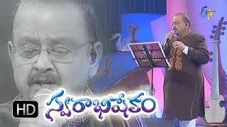 Edo Oka Raagam Song - SP.Balasubrahmanyam Performance in ETV Swarabhishekam - 25th Oct 2015