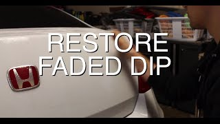 DIY: Restore Faded PlastiDip for Under $5