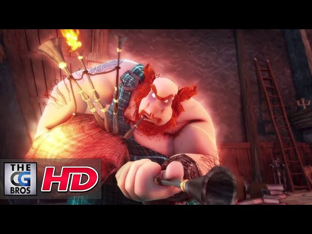 """CGI 3D Animated Short """"Hors Cadre"""" - by Team Hors Cadre"""