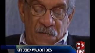 Death Of A Poet   Nobel Laureate Sir Derek Walcott Passes On
