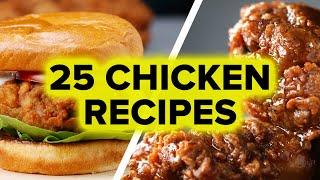 25 Chicken Recipes