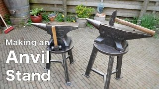 Making an Anvil Stand