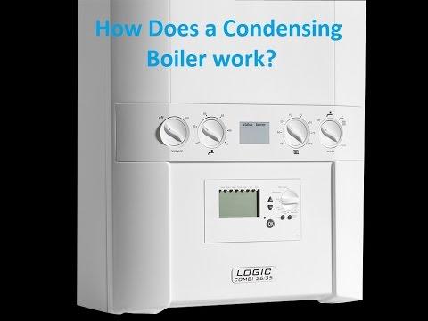 How a Combi / Condensation boiler works Logic Combi 35