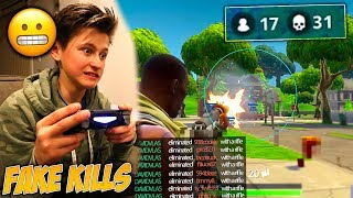 I Caught My Little Brother CHEATING In Fortnite: Battle Royale!