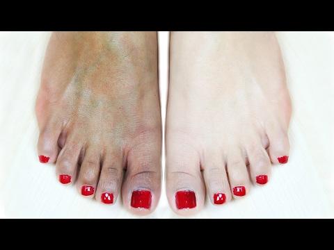 Feet Whitening Pedicure At Home - Skin Whitening   PrettyPriyaTV