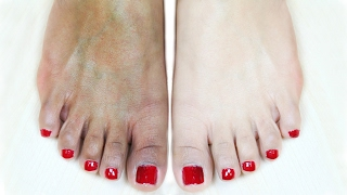 Feet Whitening Pedicure At Home - Suntan Removal | PrettyPriyaTV