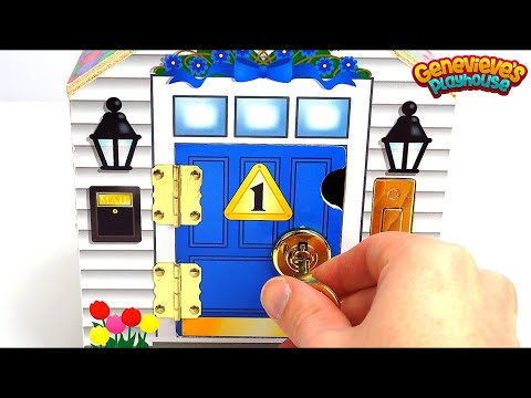 Xxx Mp4 Best Learning Video For Kids Toy Dollhouse W Locking Doors And Keys Helps Teach Colors Counting 3gp Sex
