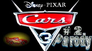 The New Pixar Cars 3 Trailer  Part 3 Parody  Lightning McQueen Strikes Back at Jackson Storm