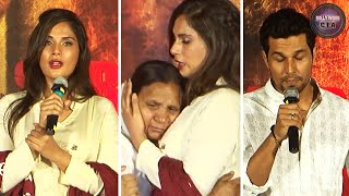 Randeep Hooda & Richa Chadda get EMOTIONAL