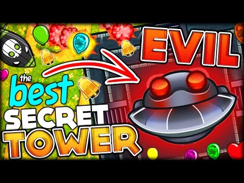 THE MOST OVERPOWERED TOWER EVER DARK TEMPLE OF THE MONKEY GOD Bloons Tower Defense 5 Bloons TD 5