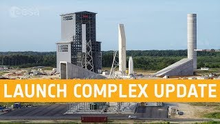 Ariane 6 launch complex - September 2019