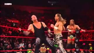 John cena & Undertaker vs DX vs Jeri-Show wwe 2010