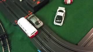 VW BUS v VW BEETLE on track
