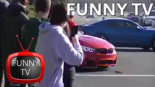FUNNY TV - EPIC FAIL - Jumping BMW M4