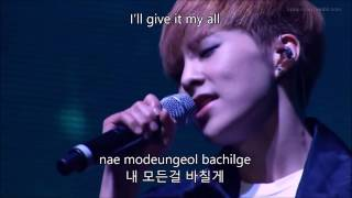「The EXO'luXion' in Seoul」EXO - Promise [LIVE] (Eng|Rom|Han Lyrics)