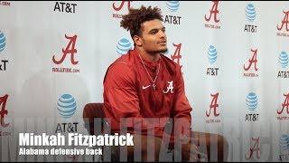 Alabama DB Minkah Fitzpatrick talks Auburn game