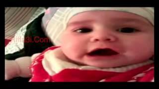 طفل رضيع ينطق الشهادة - لا اله الا الله