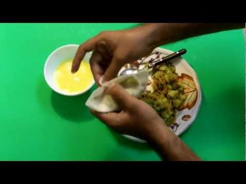 Bangladeshi Food - Shingara /Singara Recipe - Bangla Video