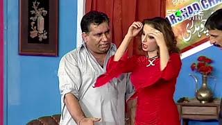 Best Of Nasir Chinyoti and Nida Choudhary New Pakistani Stage Drama Full Comedy Clip