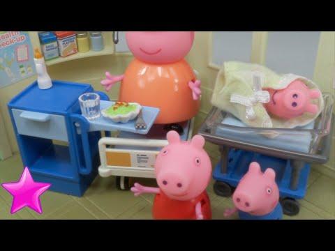 Xxx Mp4 Peppa Pig Mamá Pig Tiene Un Bebé En El Hospital Juguetes De Peppa Pig 3gp Sex