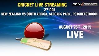 CRICKET LIVE STREAMING: 2nd ODI - South Africa v New Zealand, Senwes Park, Potchefstroom