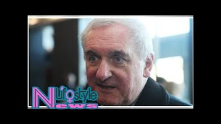Bertie ahern walks out of tv interview after facing questions about mahon tribunal