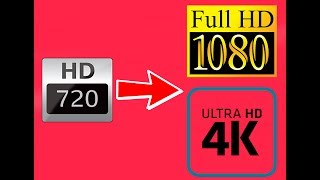 HOW TO CONVERT 720p TO 1080p/4K! [EASY][TUTORIAL] ||PGTECH||
