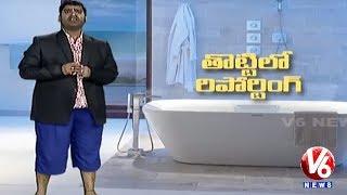 Bithiri Sathi Satires On TV Channels For Insensitive Coverage Of Sridevi's Death   Teenmaar News