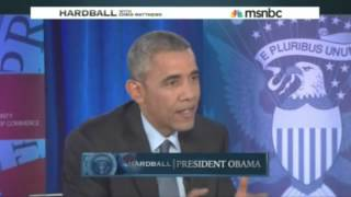 Obama: Americans' Low Wages 'Has To Do with Automation, Shifts in the Economy'