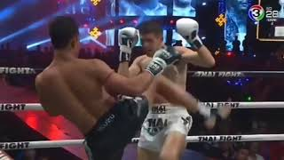 Satharnfah Isuzu Cup  Vs Oleksandr Moisa THAI FIGHT 2018