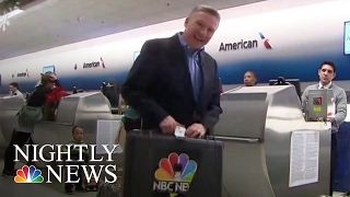 Your Bag's Journey Through The Airport | NBC Nightly News