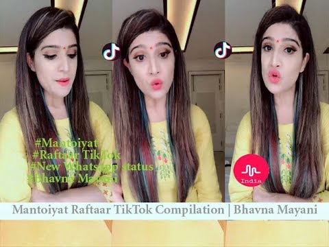 Xxx Mp4 Mantoiyat Raftaar TikTok Compilation Bhavna Mayani New Video 2018 New Whatsapp Status 3gp Sex