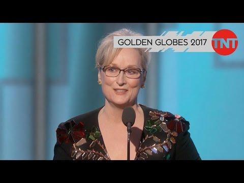TNT SERIE MERYL StREEPS REDE BEI DEN GOLDEN GLOBES 2017