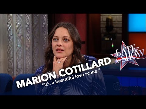 Marion Cotillard Says Sex Scenes With Brad Pitt Were Not Awkward
