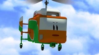 Airplane Cartoons for Kids - The Airport Diary - The floating island (cartoon 21)
